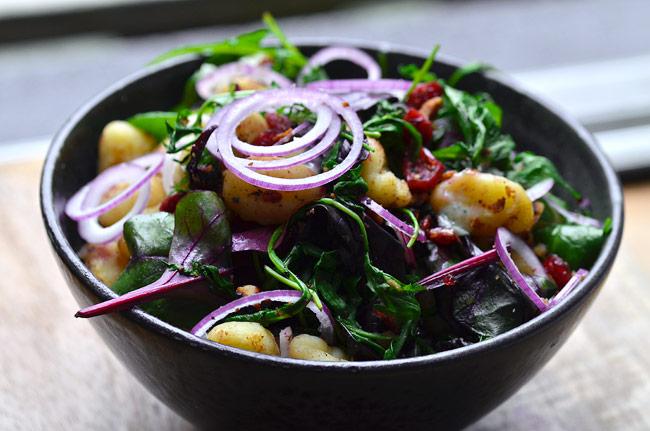 gnocchi-salat