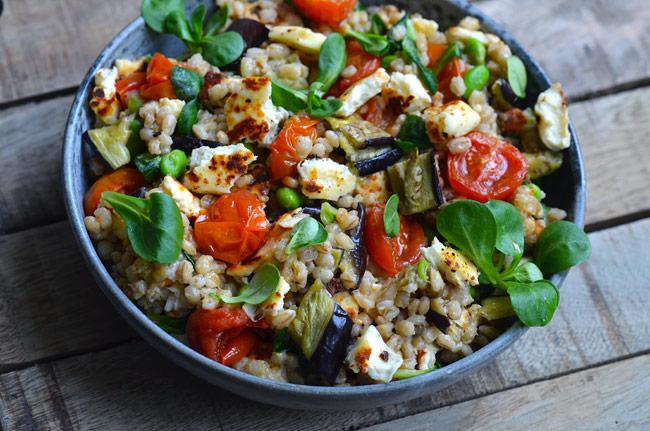 salad-with-eggplant