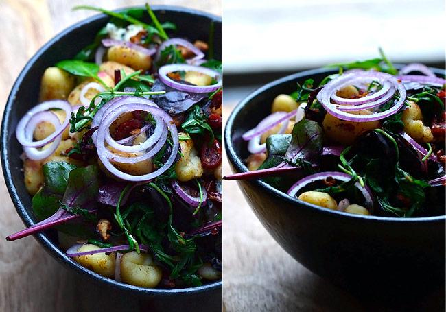 salat-med-gnocchi