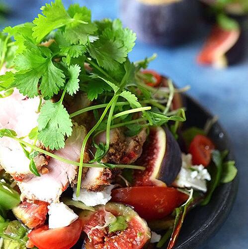 salat-med-grisemørbrad